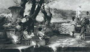 Henryk Siemiradzki (1843-1902), Odsłonięcie pomnika