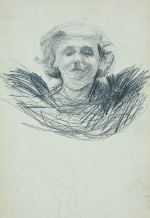 Włodzimierz Tetmajer (1861 - 1923), Studium głowy młodej kobiety - szkic, 1907