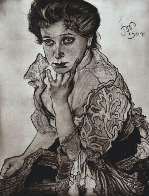 Stanisław Wyspiański (1869-1907), Portret P. Leonowej Sternbachowej