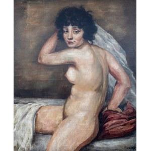 Roman Kramsztyk (1885 Warszawa-1942 tamże) Akt kobiecy