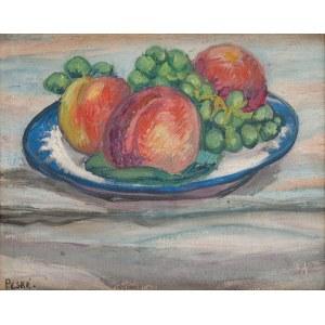 Jean Peske (1870 Gołta/Ukraina-1949 Le Mans) Martwa natura z owocami,