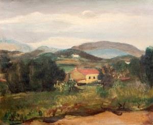 Henryk Hayden (1883 Warszawa - 1970 Paryż) Pejzaż z południa Francji