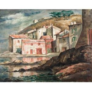 Roman Kramsztyk (1885 Warszawa-1942 tamże) Pejzaż z południa Francji