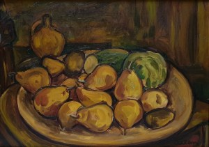 Michel Adlen (1898 Łuck – 1980 Paryż) Martwa natura z gruszkami,