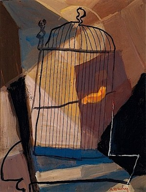 Marc Sterling (1898 Rosja – 1976 Paryż) Klatka