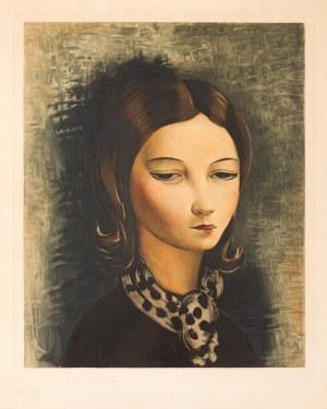 Moïse (Mojżesz) Kisling (1891 Kraków - 1953 Sanary-sur-Mer) Portret młodej dziewczyny