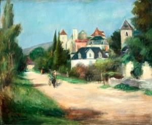 Henryk Hayden (1883 Warszawa - 1970 Paryż) Pejzaż Meyronne, ok. 1929–1931