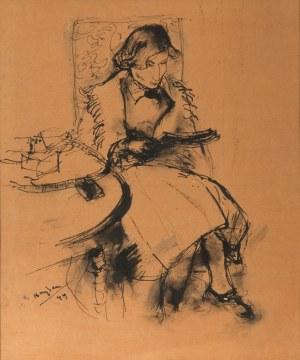 Henryk Hayden (1883 Warszawa - 1970 Paryż) Kobieta siedząca