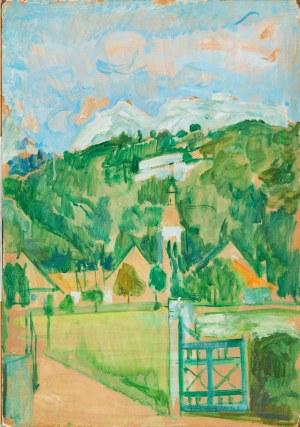 Joseph Pressmane (1904 Beresteczko- 1967 Paryż) Wieża kościoła,