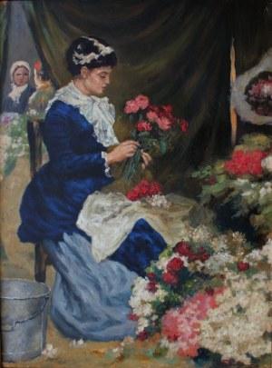 Stanisław Bergman (1862-1930) Kwiaciarka