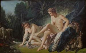 Léon Joseph Florentin Bonnat (1833-1922) wg François Boucher, Diana po kąpieli