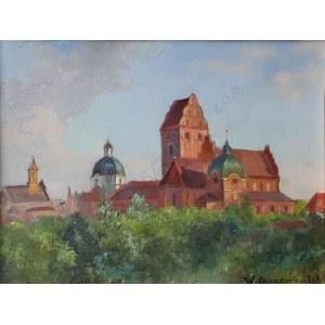 Wawrzyniec Chorembalski (1888-1965) Pejzaż warszawski