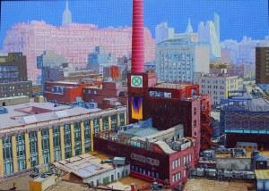 Krzysztof Kiwerski (ur.1948) Okolice Whitney Museum of American Art