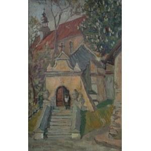Antoni Michalak (1899-1975) Klasztor Franciszkanów w Kazimierzu Dolnym