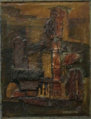 """Ireneusz Olszewski (1930-2011) Z cyklu """"Stare domy"""""""