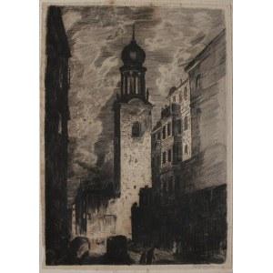 Wilhelm (Wilk) Ossecki (1892-1958) Kościół św. Marcina