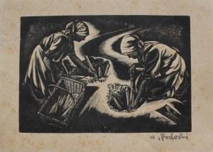 Wiktor Podoski (1901-1970) Dziewczyny w polu