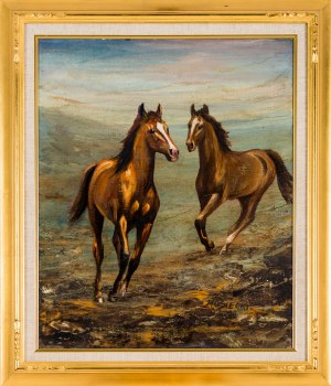Marian Osiecki, Konie