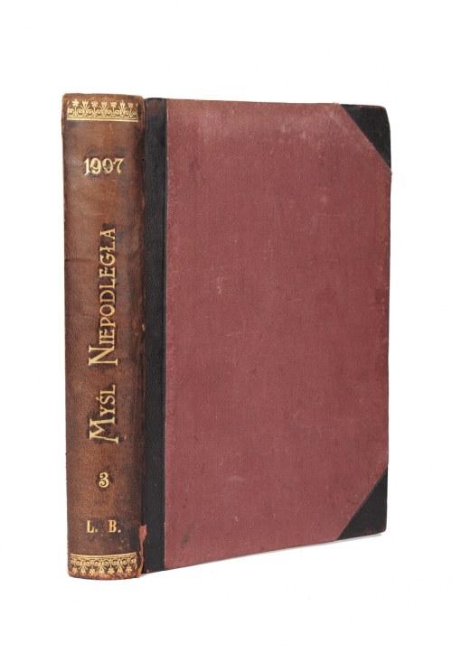 Myśl Niepodległa. Numery 25-36 z 1907 r.