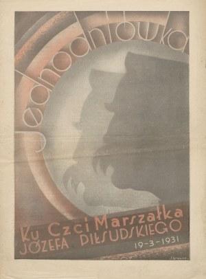 Jednodniówka ku czci Marszałka Józefa Piłsudskiego (19.III.1931)