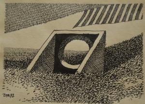 Zbigniew Makowski, Bez tytułu, 1972