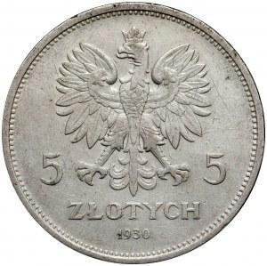 II RP, 5 złotych 1930, Warszawa, Nike