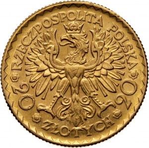 II RP, 20 złotych 1925, Warszawa, Bolesław Chrobry