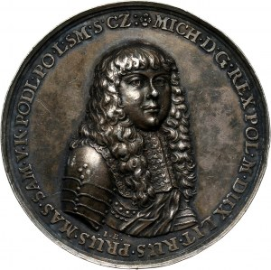 Michał Korybut Wiśniowiecki, medal koronacyjny bez daty (1669)