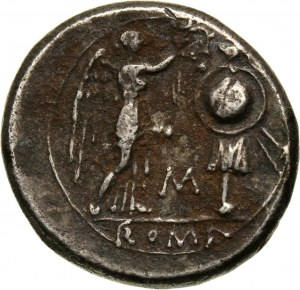 Roman Republic, anonymous Victoriatus, 211-206 BC, Rome