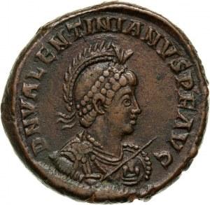 Roman Empire, Valentinian II 375-392, Bronze, Constantinople