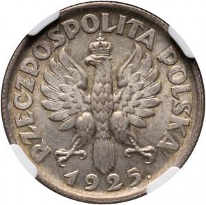 II RP, 1 złoty 1925, Londyn, Żniwiarka