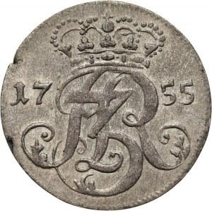 August III, trojak 1755, Gdańsk