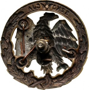 PSZ na Zachodzie, odznaka instruktorska, Szkoła Podchorążych Piechoty i Kawalerii Zmotoryzowanej Szkocja