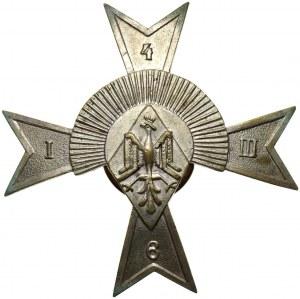 II RP, odznaka, 6. Pułku Strzelców Konnych - Żółkwia