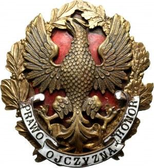 II RP, odznaka funkcyjna Adwokacja, PRAWO HONOR OJCZYZNA