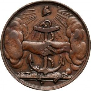 XIX wiek, medal z 1833 roku, wybity na trzecią rocznicę wybuchu Powstania Listopadowego