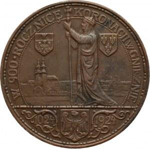 II RP, medal z 1924 roku, 1000-lecie koronacji Bolesława I Chrobrego
