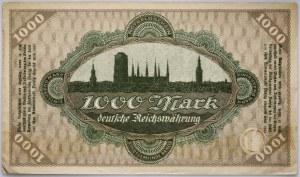 Wolne Miasto Gdańsk, 1.000 marek 15.03.1923