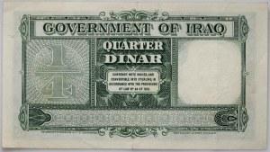 Iraq, 1/4 Dinara 1931 (1942) H Series