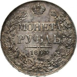 Rosja, Mikołaj I, rubel 1843 СПБ АЧ, Petersburg