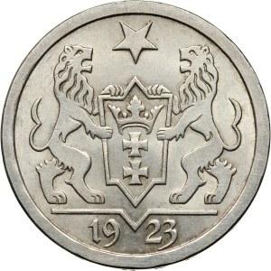 Wolne Miasto Gdańsk, 2 guldeny 1923, Utrecht, koga