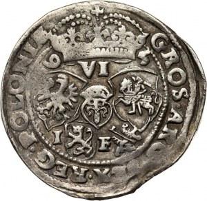 Zygmunt III Waza, szóstak 1595 I-F, Lublin