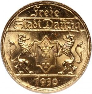 Wolne Miasto Gdańsk, 25 guldenów 1930, Berlin