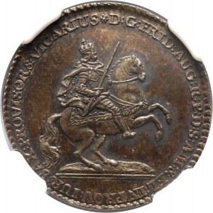 August III, dukat wikariacki 1745, Drezno, ODBITKA W SREBRZE