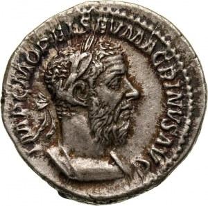 Roman Empire, Macrinus 217-218, Denarius, Rome