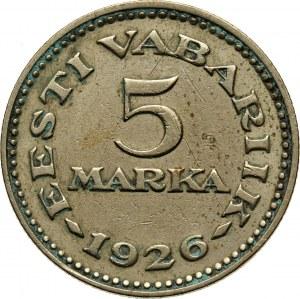 Estonia, 5 Marka 1926