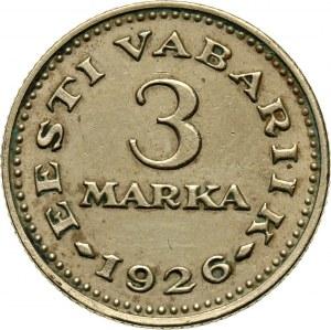Estonia, 3 Marka 1926