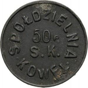Kowel, 10 groszy, marka kredytowa, Spółdzielnia 50 Pułku Piechoty Strzelców Kresowych