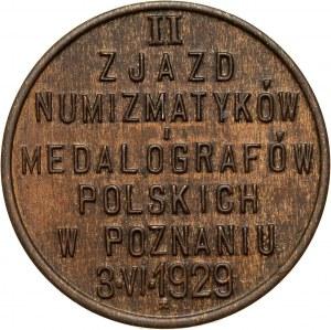 II RP, 5 groszy 1929, Zjazd numizmatyków w Poznaniu
