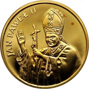 PRL, 2000 złotych 1982, Valcambi, Jan Paweł II, stempel zwykły